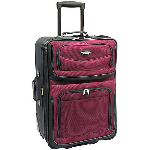 "Travel Select Red Amsterdam 29"" in Expandable Rolling Upright Luggage Suitcase in Travel, Luggage 