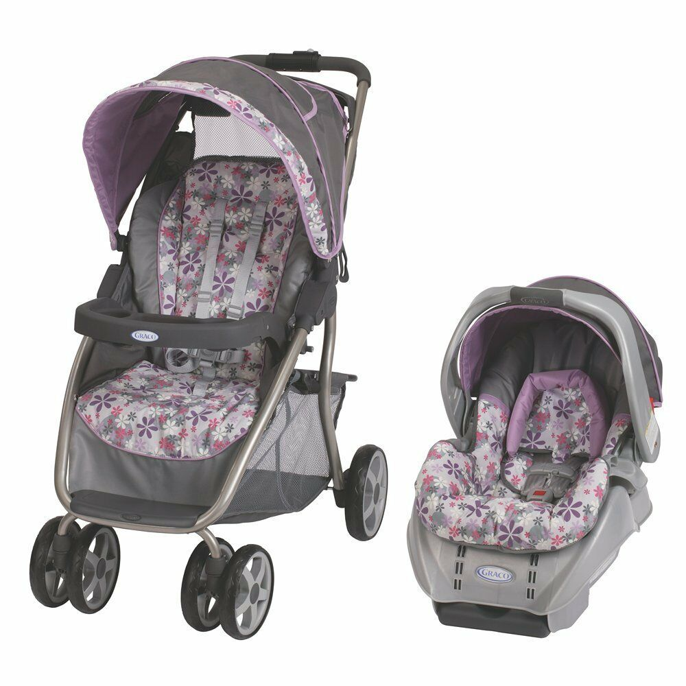 Purple Infant Girl Car Seats