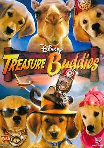 Treasure Buddies (DVD, 2012)