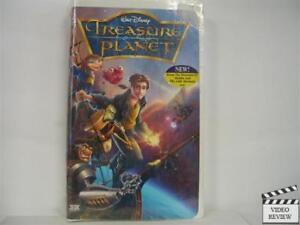 treasure planet vhs 2003 clam shell brand new 786936200058