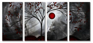 Tree Art Metal Wall Panels - Abstract Metal Wall Decor in Art, Direct from the Artist, Paintings | eBay