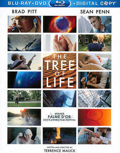 The Tree of Life (Blu-ray/DVD, 2011, 2-D...