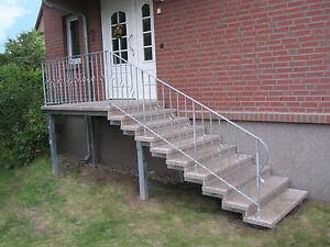 Treppe mit podest aussen