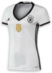 trikot adidas dfb 2016 2018 home deutschland damen xs bis. Black Bedroom Furniture Sets. Home Design Ideas