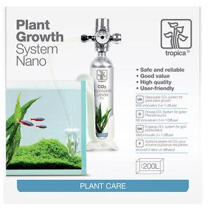 tropica co2 system nano komplette co2 anlage f r kleine aquarien ebay. Black Bedroom Furniture Sets. Home Design Ideas