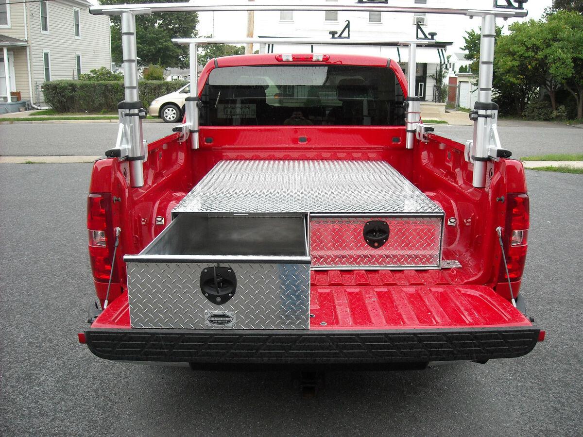Truck Bed Drawer Tool Box / Storage Box 72x48x10 5/8