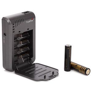 Trustfire-TR-003P4-Ladegeraet-Battery-Charger-fuer-4x-18650-und-3-7V-Li-Ionen-Akku