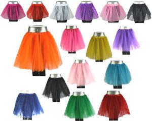 Tuetue-Tutu-XS-bis-XXL-Ballettrock-Tuellrock-Petticoat-Ballettkleid-Rock-Neu