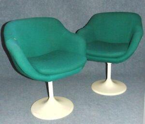 tulip chair gepolstert sessel tulpenfu panton ra space age lusch ebay. Black Bedroom Furniture Sets. Home Design Ideas