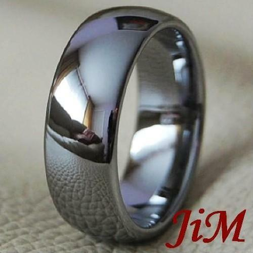 Tungsten Men's Ring Classic Wedding Band Bridal Jewelry Titanium Color Size 6-15 in Jewelry & Watches, Men's Jewelry, Rings | eBay