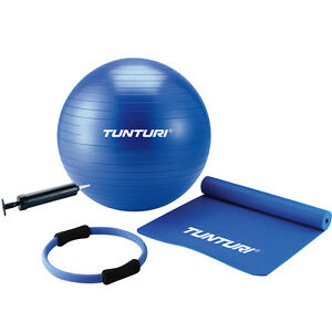 Tunturi Fitness Pilates Kit Exercise Gym Ball Fitness