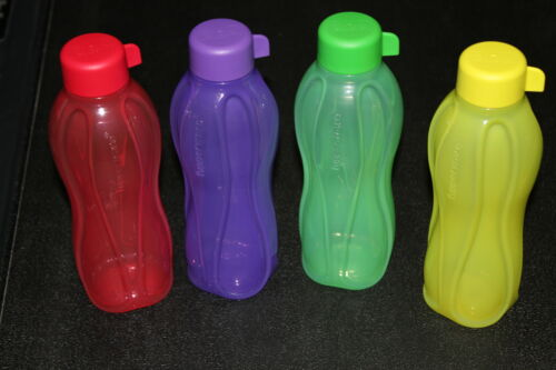 Tupperware ECO Travel Sport Water BOTTLE 16 oz. set of 4 - assorted colors in Collectibles, Kitchen & Home, Kitchenware | eBay
