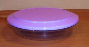 Tupperware-Tafelperle-flach-1-3l-in-fliederfarbe-Neu-OVP