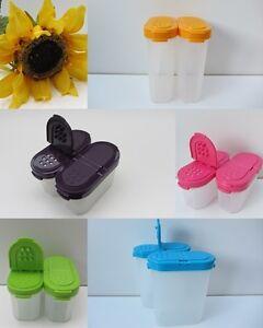 tupperware vorratsbeh lter f r gew rze gew rzriesen gew rzzwerge kompaktus ebay. Black Bedroom Furniture Sets. Home Design Ideas