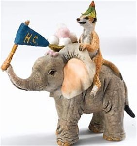 Tuskers-Adventures-Of-Henry-and-Henrietta-Meerkat-and-Elephant-Figurine-91235