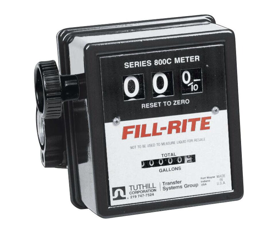 Fill Rite 807CMK Mechanical Fuel Transfer Pump Meter 3/4 Inch