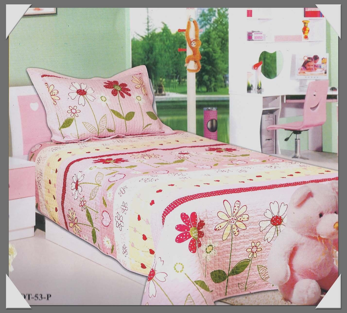 Pottery Barn Kids Daisy Garden Quilt And Sham Decor Look