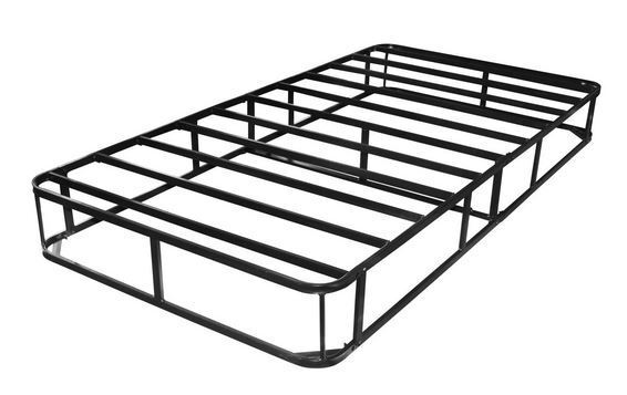 Twin Box Spring Metal Frame Bed Structure Coil Mattress