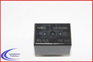 Twin-Relais-NEC-EP2-3L1S-Doppelwechsler-2x-Wechsler-12-V-2x-25-A-Relais