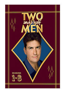 Two and a Half Men: Seasons 1-8 (DVD, 20...