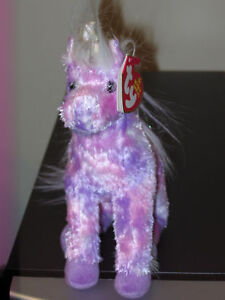 Ty STARGAZER the Purple Unicorn Beanie Baby ~ MINT TAGS ~ RETIRED in Toys & Hobbies, Beanbag Plush, Ty | eBay