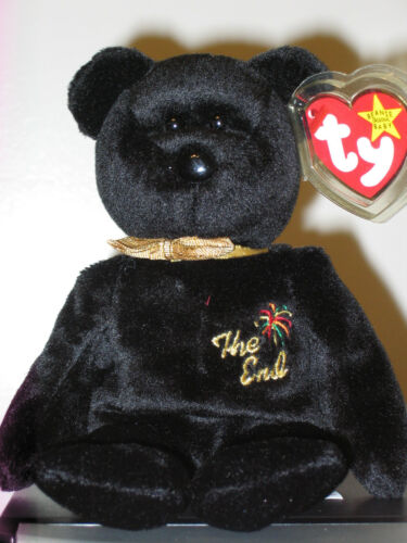 Ty THE END the Bear Beanie Baby ~ MWMT'S ~ RETIRED in Toys & Hobbies, Beanbag Plush, Ty | eBay