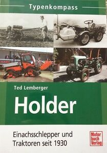 Typenkompass-HOLDER-Einachsschlepper-und-Traktoren-seit-1930-Buch-NEU