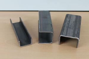 u baustahl f fahrzeugbau metall eisen roh u tr ger stahltr ger u eisen profil ebay. Black Bedroom Furniture Sets. Home Design Ideas