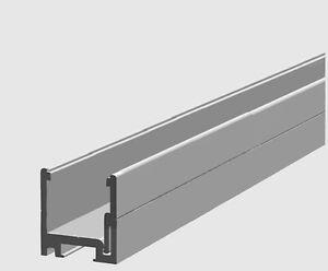 u profil in aluminium zur glasmontage und verglasung 6. Black Bedroom Furniture Sets. Home Design Ideas