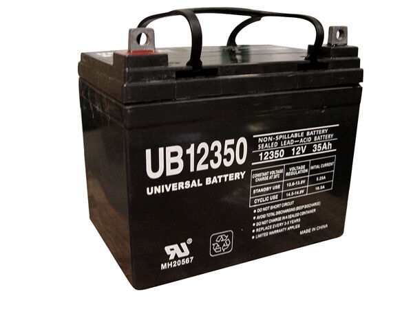 U1 12V 35Ah John Deere Lawn Garden Tractor Riding Mower 130 160 165 Battery