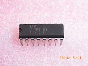 U106BS-TFK-Nullspannungsschalter-DIP-16-Integrated-Zero-Voltage-Switch