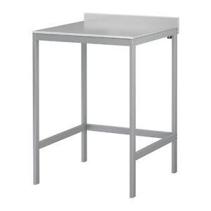 udden arbeitstisch edelstahl k chentisch ikea neu ovp ebay. Black Bedroom Furniture Sets. Home Design Ideas
