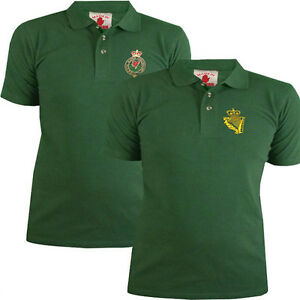 Udr or ruc polo shirt mens ulster defence regiment forest for Forest green polo shirts