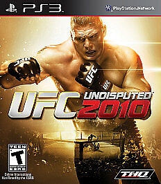UFC Undisputed 2010  (Sony Playstation 3...