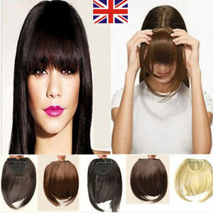 Human Hair Clip In Fringe Uk 48