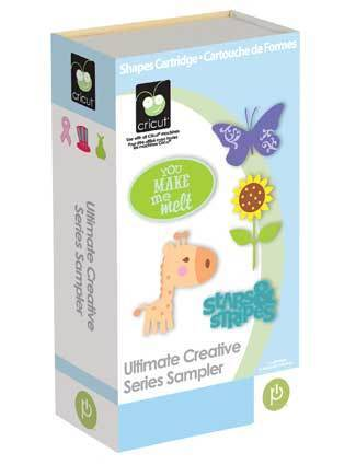 ULTIMATE CREATIVE SERIES SAMPLER Cricut Cartridge Brand New Sealed! in Crafts, Scrapbooking & Paper Crafts, Scrapbooking Tools | eBay