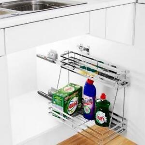 Undersink Pull Out Kitchen Storage Solutions Base Unit