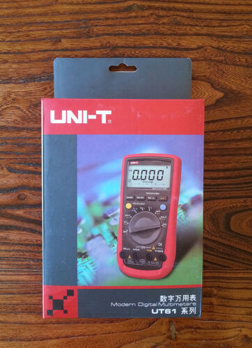 UNI-T UT-61E UT61E 22,000-count Digital Multimeter in Consumer Electronics, Gadgets & Other Electronics, Other | eBay