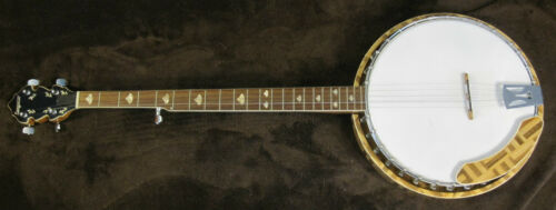 UNIQUE Conqueror 5 String Banjo with Resonator in Musical Instruments & Gear, String, Banjo | eBay