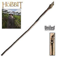 UNITED CUTLERY The Hobbit Gandalf Staff With Display LOTR NEW UC2926 in Entertainment Memorabilia, Video Game Memorabilia | eBay