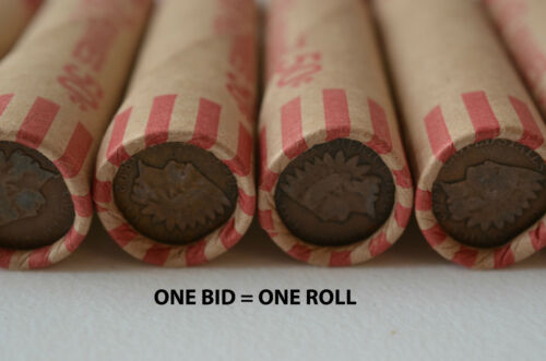 50 1943 Old US Steel War Pennies U S  Cents Penny Wheat