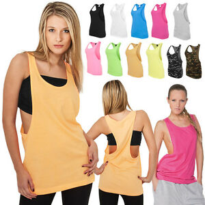 URBAN-CLASSICS-DAMEN-LOOSE-TANKTOP-T-SHIRT-TOP-SHIRT-LADIES-5-FARBEN-XS-XL