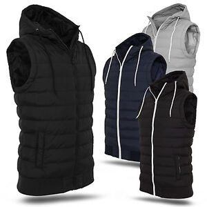 URBAN-CLASSICS-SMALL-BUBBLE-HOODED-VEST-DUNNE-HERREN-STEPP-KAPUZEN-WESTE-S-XXL