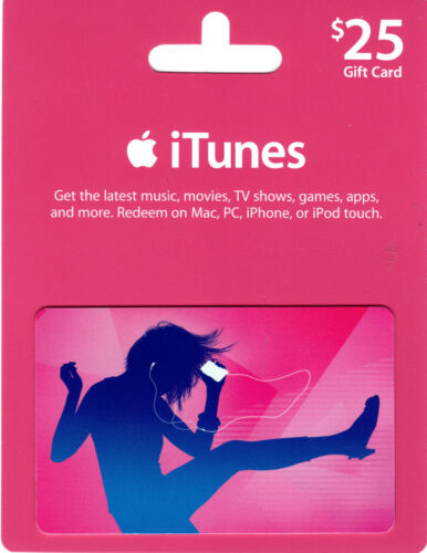 US $25 USD USA American America iTunes Gift Card | 25 dollar | Fast service in Gift Cards & Coupons, Gift Cards | eBay