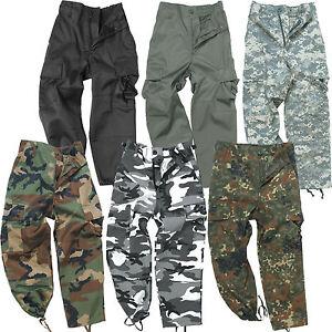 us kinderhose bdu xs xxl outdoor cargo army tarnhose kinder ranger hose tarn neu ebay. Black Bedroom Furniture Sets. Home Design Ideas