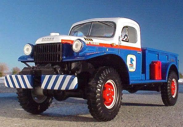 US Mail Dodge Power Wagon Pick Up Truck First Gear