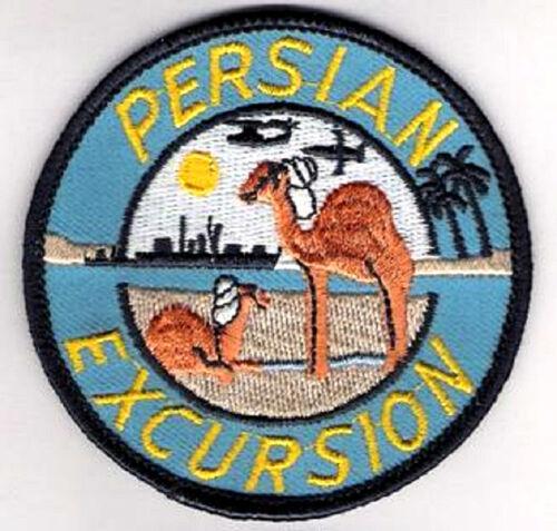 us navy desert storm persian excursion top gun patch