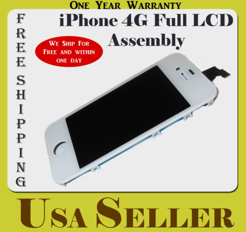 US OEM iPhone 4G White Complete LCD Touch Screen Digitizer Assembly Replacement in Consumer Electronics, Gadgets & Other Electronics, Other | eBay