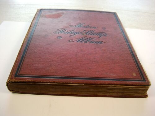 US/WW, 1000+ Stamps hinged in a 1921 Scott Modern album in Stamps, Worldwide, Collections, Lots | eBay