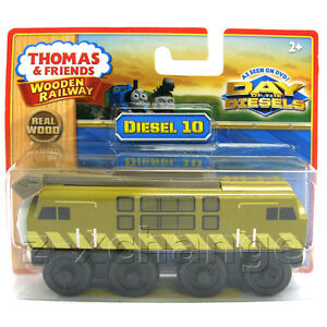 USA-DIESEL-10-Thomas-Wooden-Tank-Train-engine-NEW-NIB